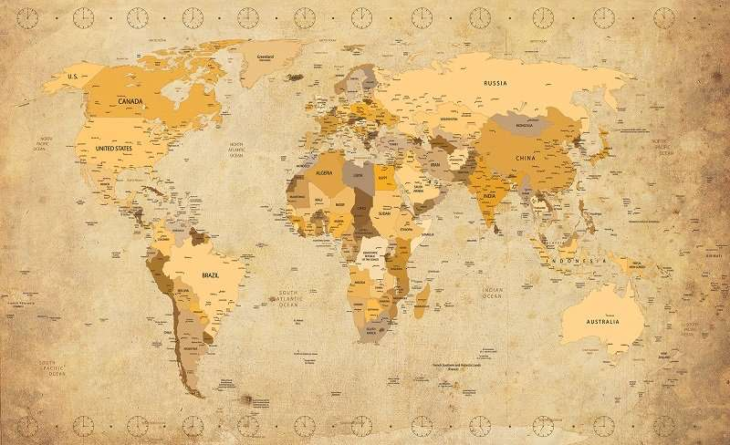 Antique Style Map - C02102