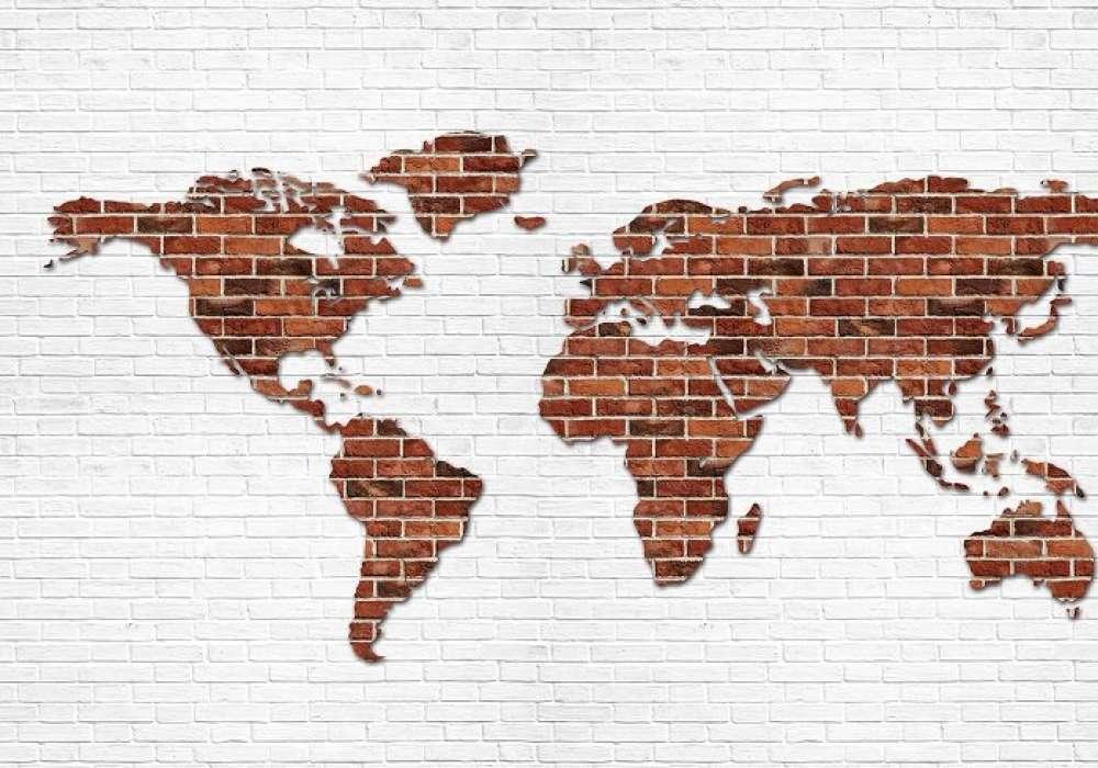 Map of Bricks  - C0486
