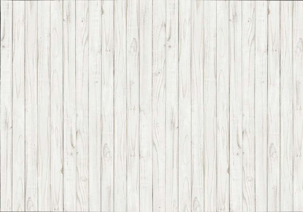 WHITE WOODEN WALL - 0861