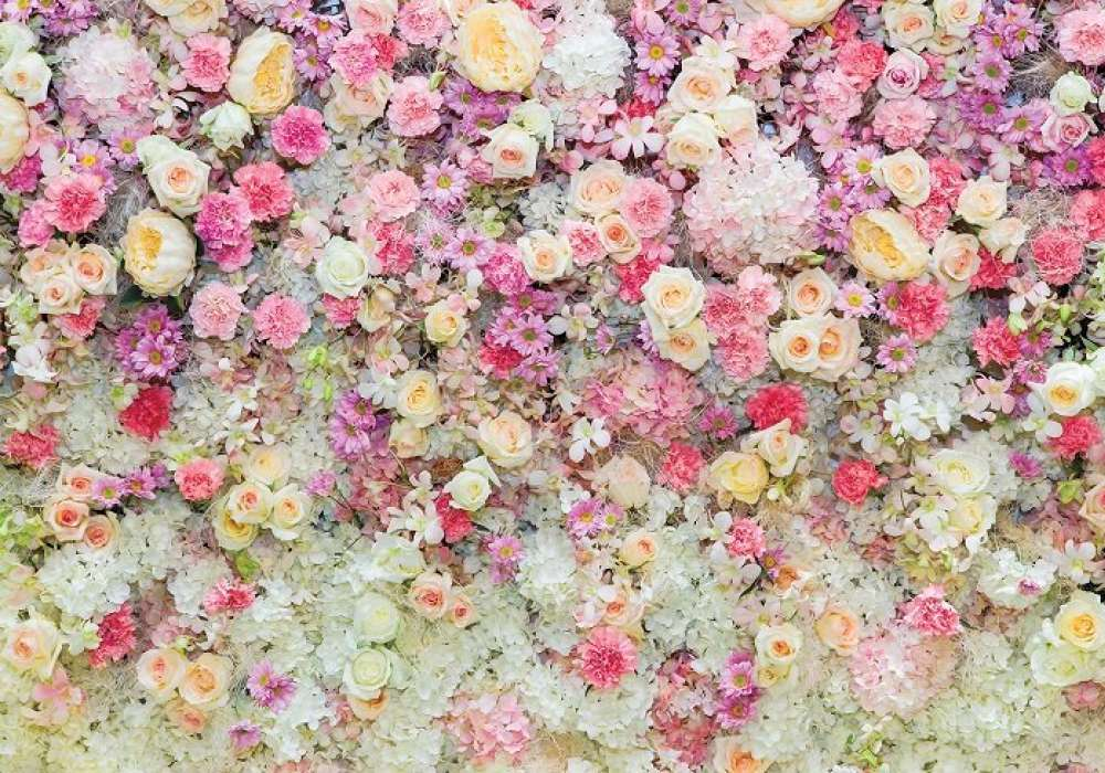 Wall of Flowers - C04131