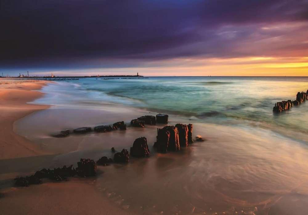 Sunset on the Beach - C0426