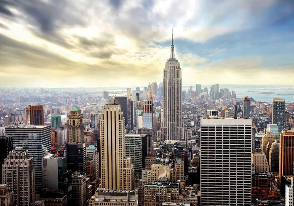NEW YORK, Manhatan color - C0445