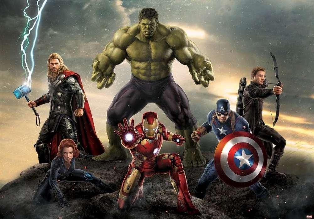 Avengers the Team-  D56