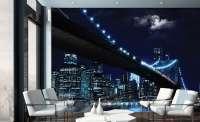 Фототапет град през ноща