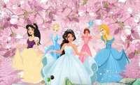 fototapet princesi