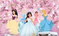 детски фототапет с принцеси
