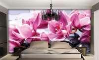 фототапет орхидея и камък 1 0410
