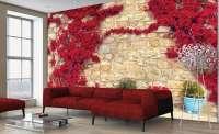 фототапет червени цветя 2 04139.1