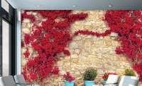 фототапет червени цветя 2 04139.2