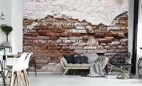 фототапет стена от тухли