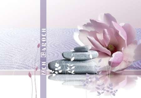 Zen Pink Garden  - C0267