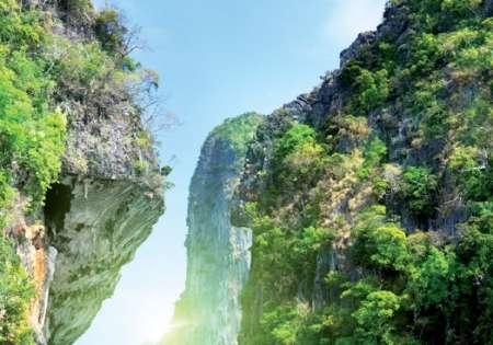 Green Rocky Lagoon - C0291