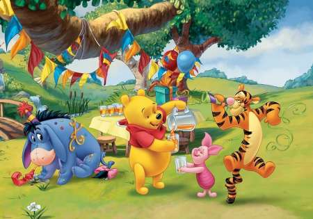 Pooh and Friends Party -  D71