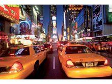 Taxi NY lights - 1422