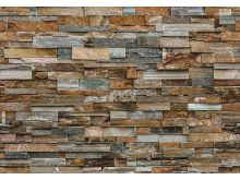COLORFUL STONE WALL - 0850