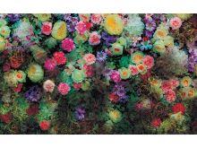 Flowers Greeny Wall  - C0492