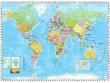 World Map Flags - K418
