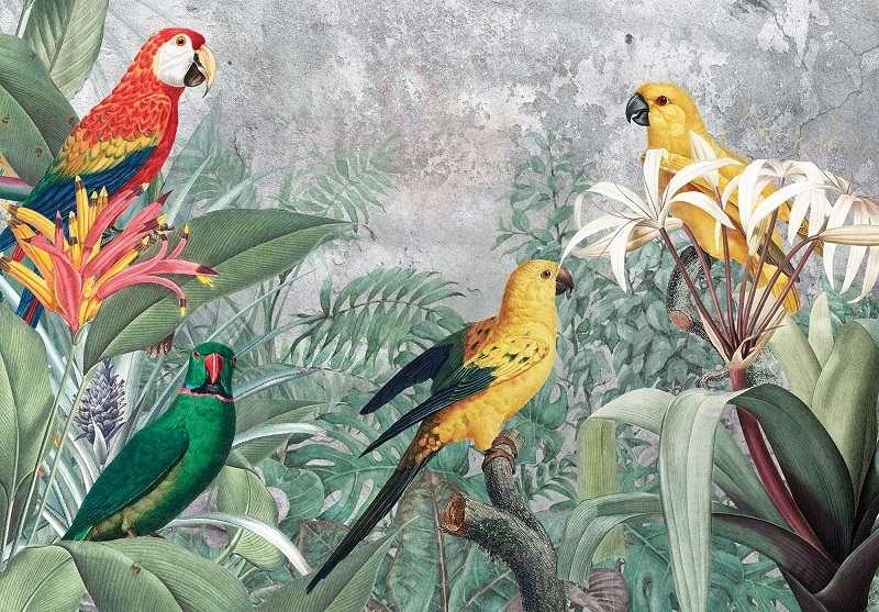Фототапет с уникални птици