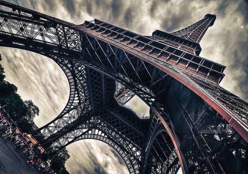 Фототапет с айфеловата кула в Париж