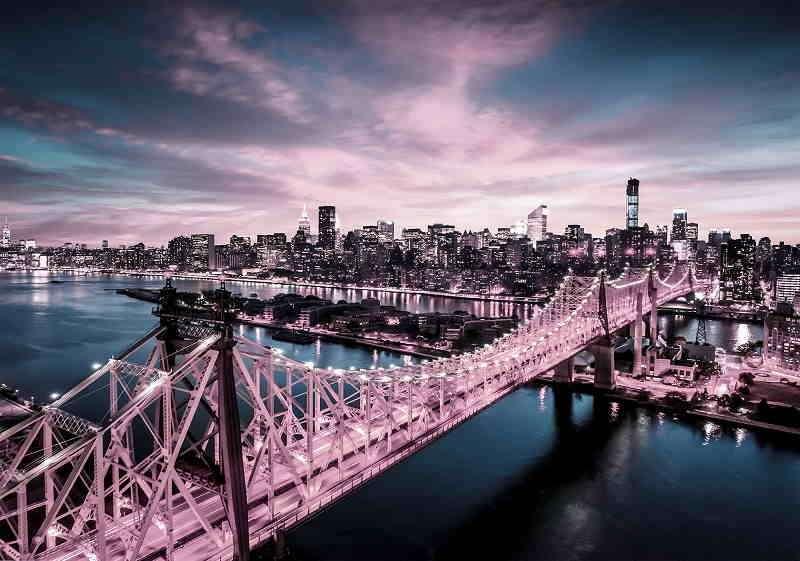 Фототапет с моста в Ню Йорк