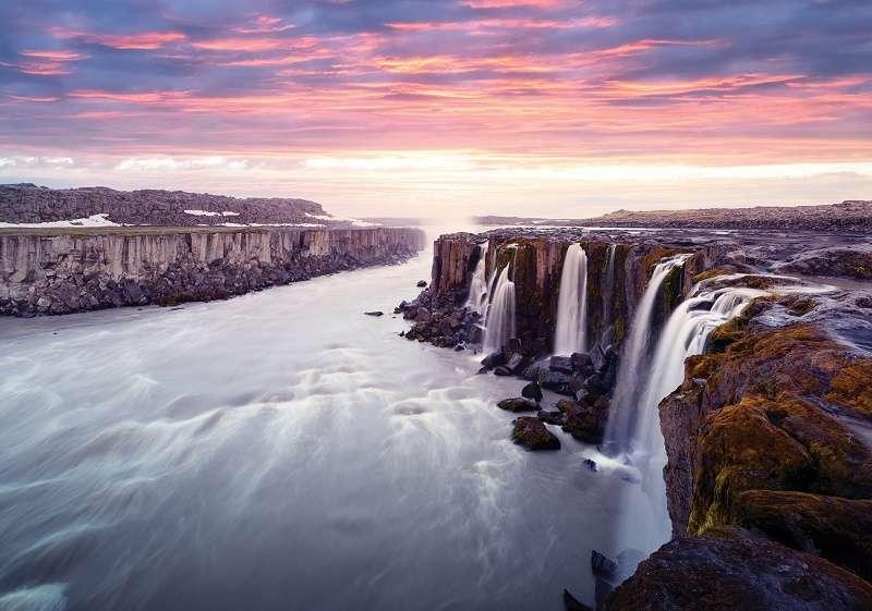 Фототапет с буйни водопади