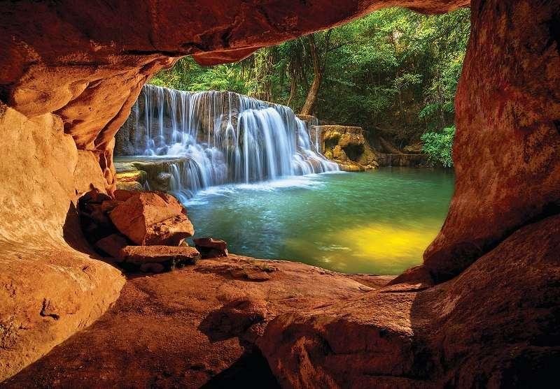 Фототапет към чудният природен водопад
