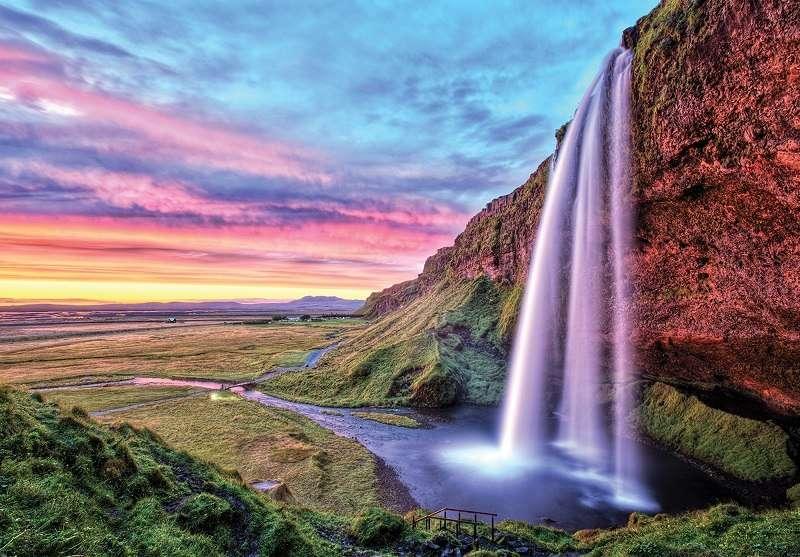 Фототапет с най-високия водопад
