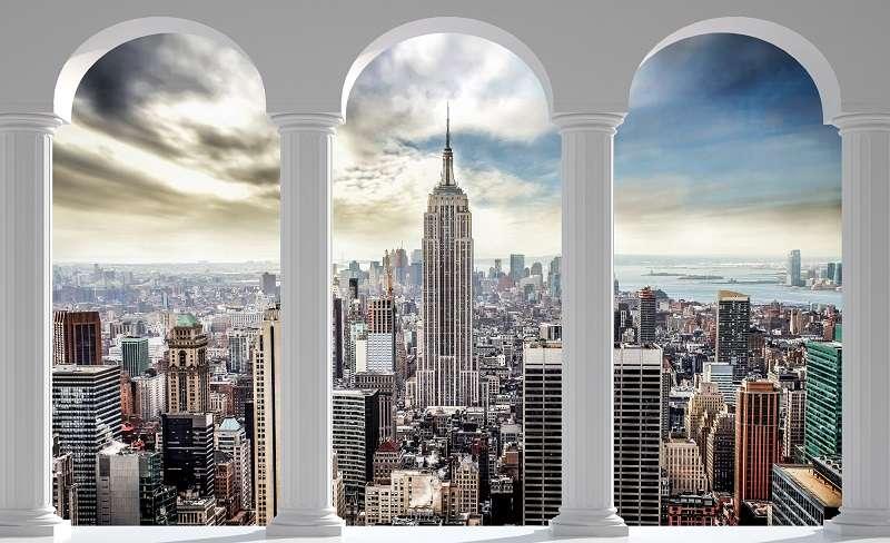 Фототапет прекарай един ден в Ню Йорк