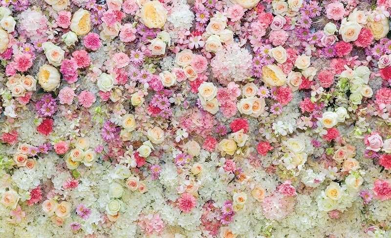 фототапет колаж с рози