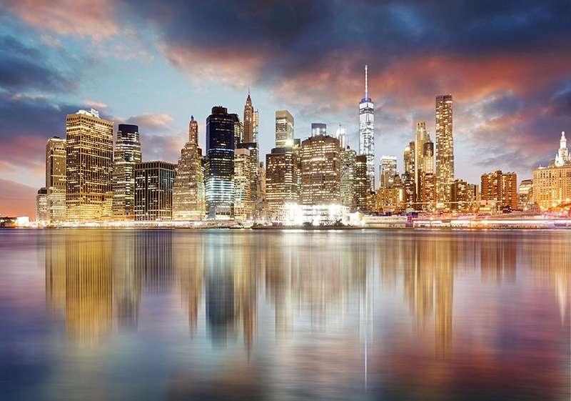 Фототапет с приказният Ню Йорк
