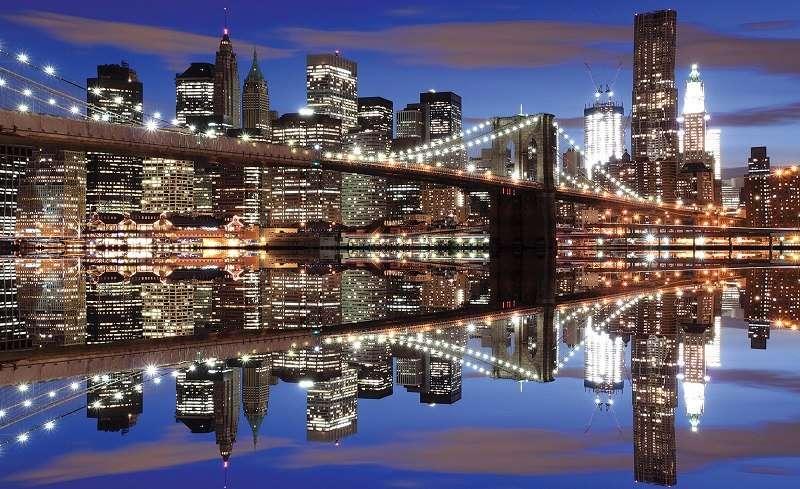 Фототапет нощна разходка в Ню Йорк