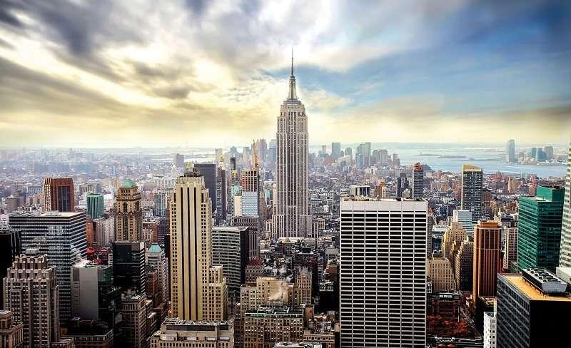 NEW YORK, Manhatan color - C0502
