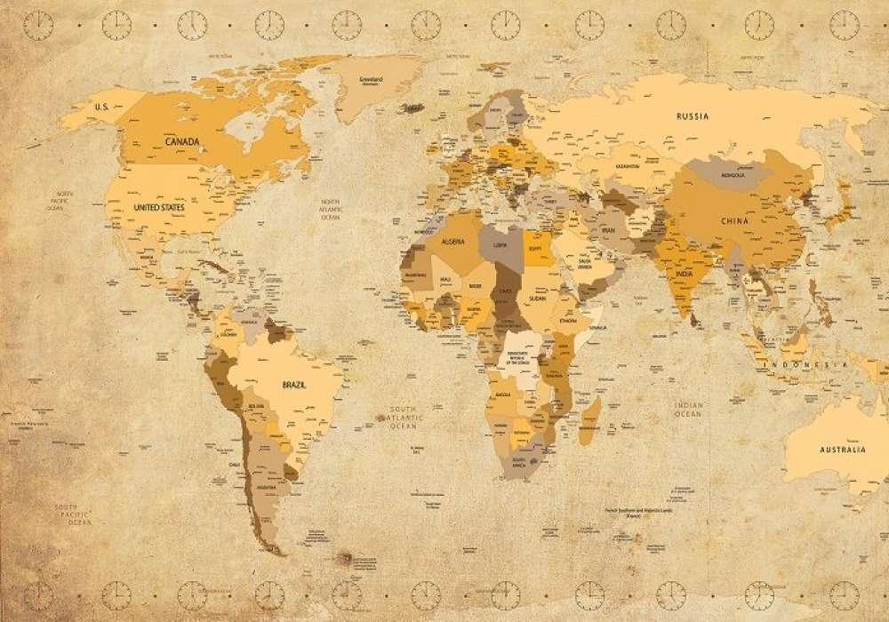 Antique Style Map - C02102