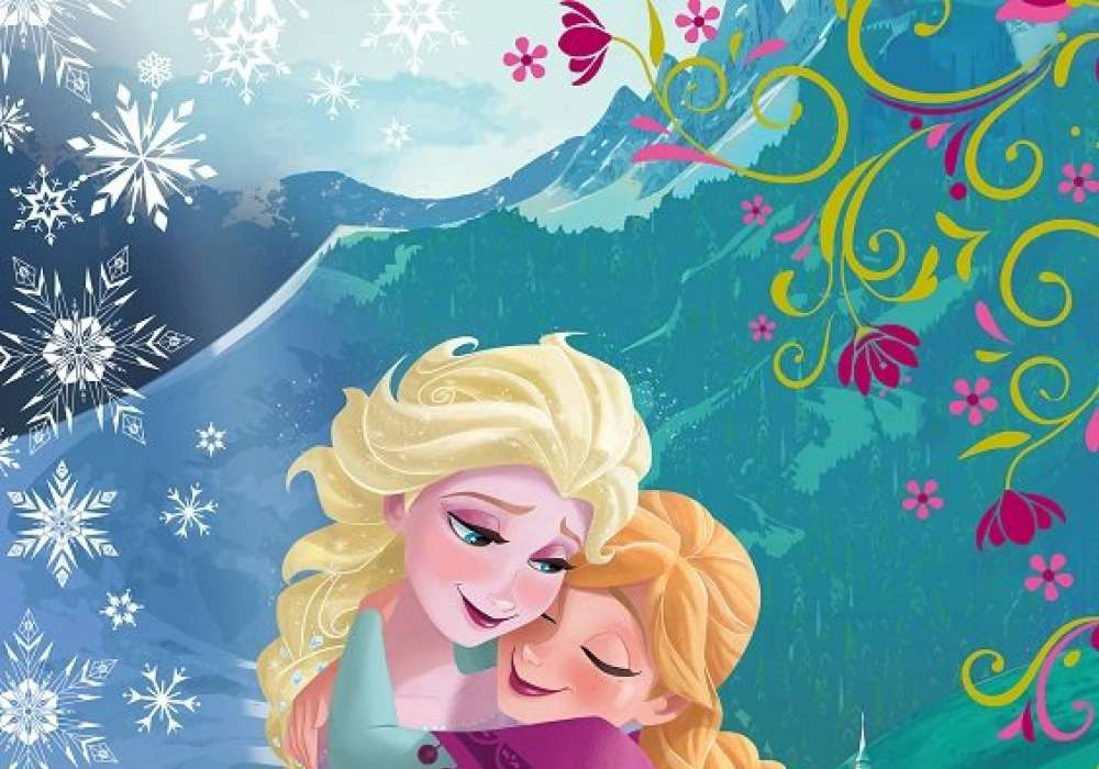 Ana and Elsa (Sisters forever) - D38