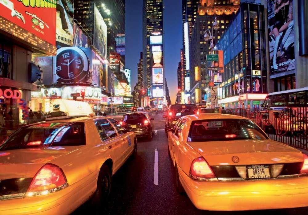 ПРОМО - Taxi NY lights - 1422