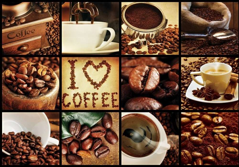 Collage of Coffee - C02123
