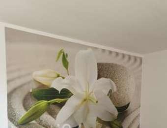 Фототапет бяла лилия