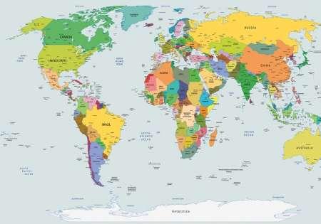 World Map - C0231