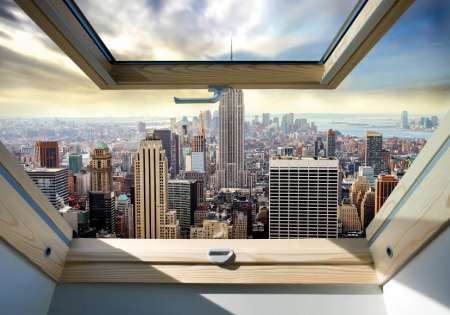 New York Window - C02124