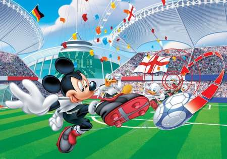 Micky Football Player - D51