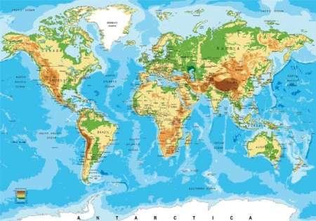 World Map - C02182