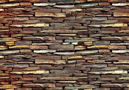 Stone Wall, golden - C0434