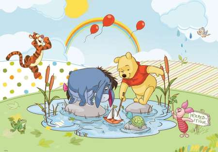 WINNIE AND FRIENDS -  D47