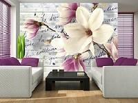 Къде е подходящо да сложим фототапети с цветя?