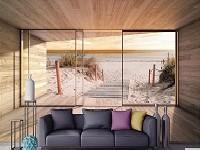 Как да подобрите атмосферата в дома с фототапети?
