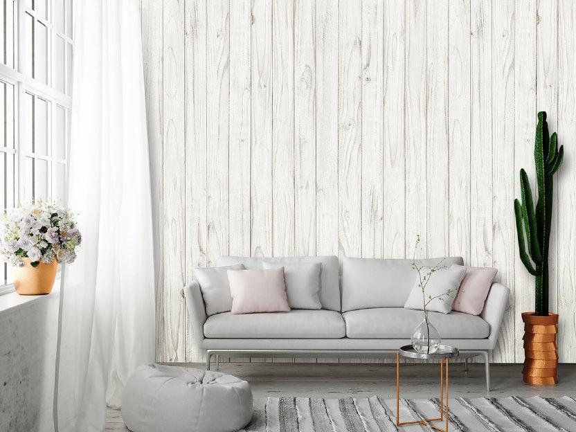 fototapetul lemn de culoare albă