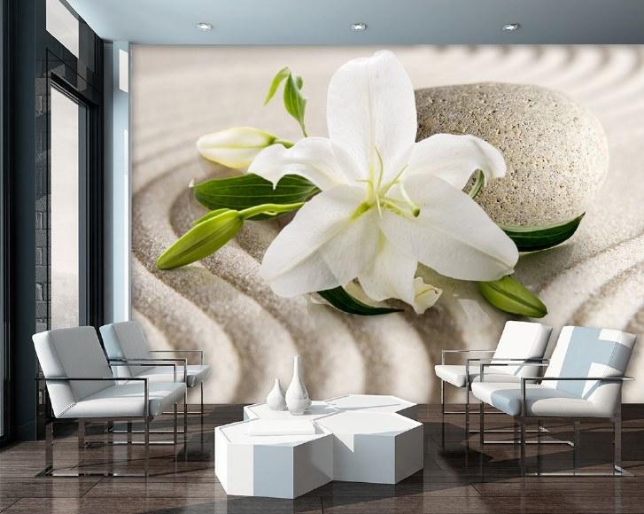 фототапет с лилия