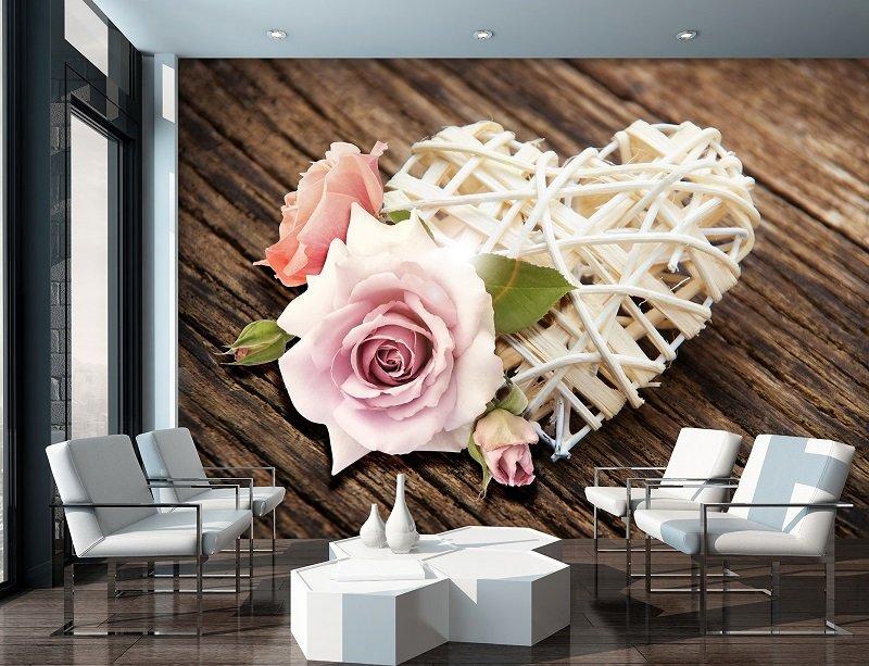 фототапет с роза