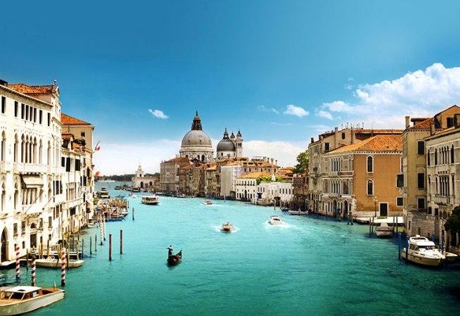 фототапет на град венеция