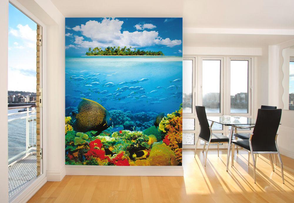 фототапет море с риби
